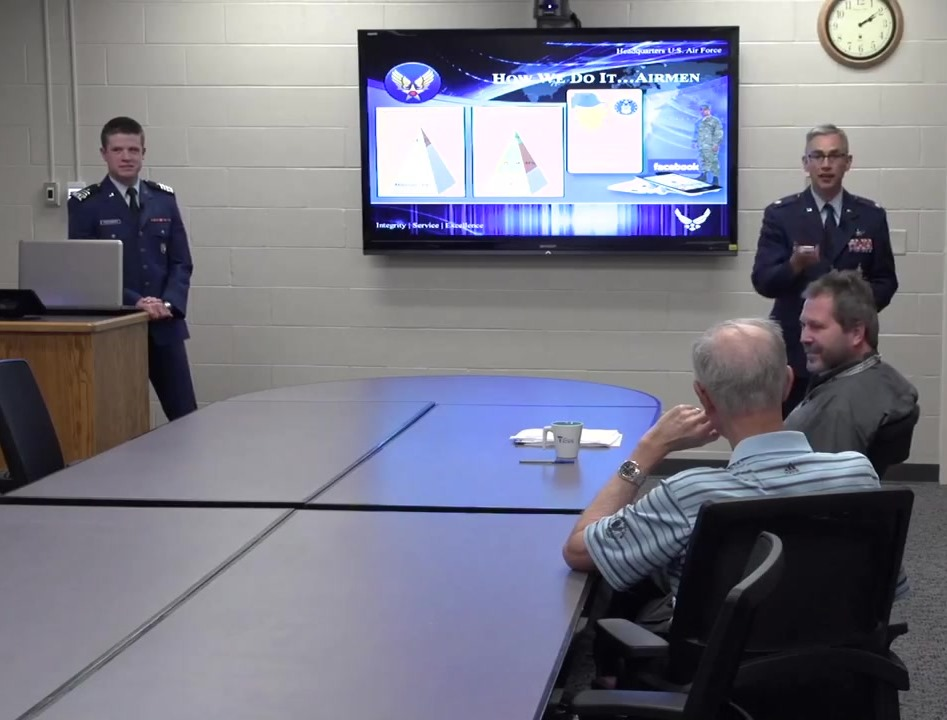 Air Force visit